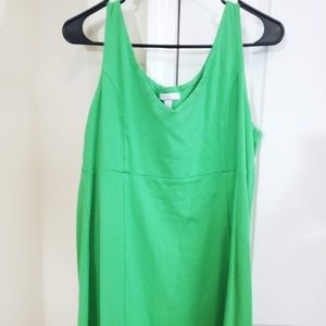 3 for $12 Green Sleeveless Dress